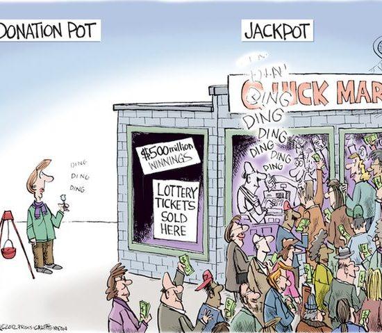 有預算的話,直接做公益,雙方都是大贏家, via Joe Heller