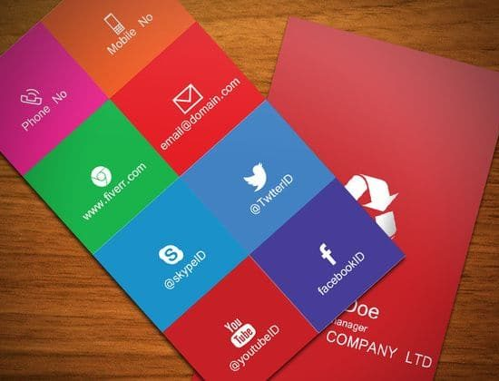 Flat-Metro-style-biz-card-aas_ali, via http://fiverr.com/aas_ali/