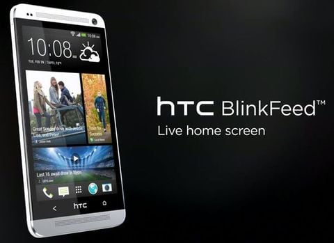hTC BlinkFeed介面, via http://fandroides.com