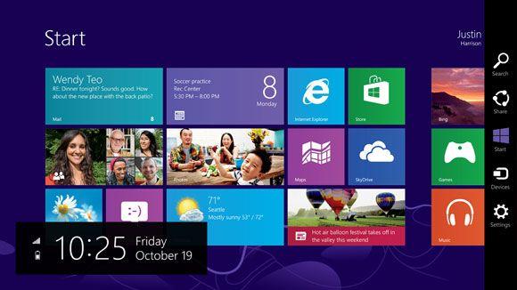 Microsoft Windows 8發表會, 畫面展示, 2012/10/25, via microsoft.com