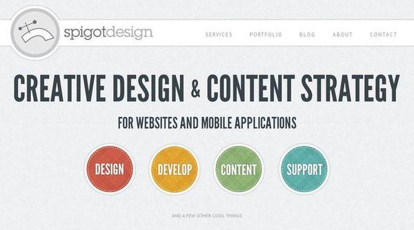 【設計】網頁設計風格-繽紛點綴啞色派(馬卡龍)