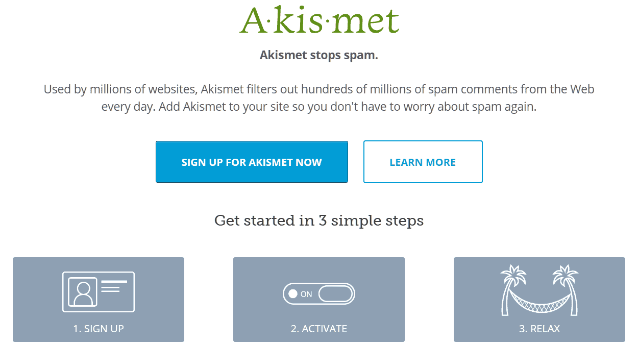 Screenshot-2018-5-3 Akismet Spam Protection for WordPress - Akismet