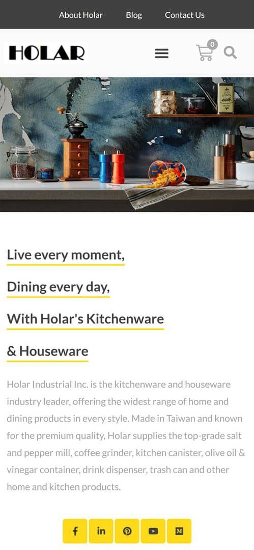 Home - Holar Taiwan Kitchenware Houseware Expert Supplier(Mobile)
