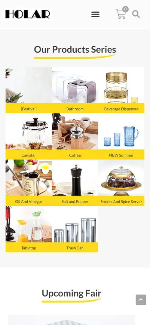Home p2 - Holar Taiwan Kitchenware Houseware Expert Supplier(Mobile)