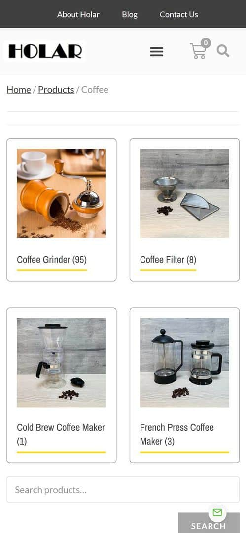 Products - Holar Taiwan Kitchenware Houseware Expert Supplier(Mobile)