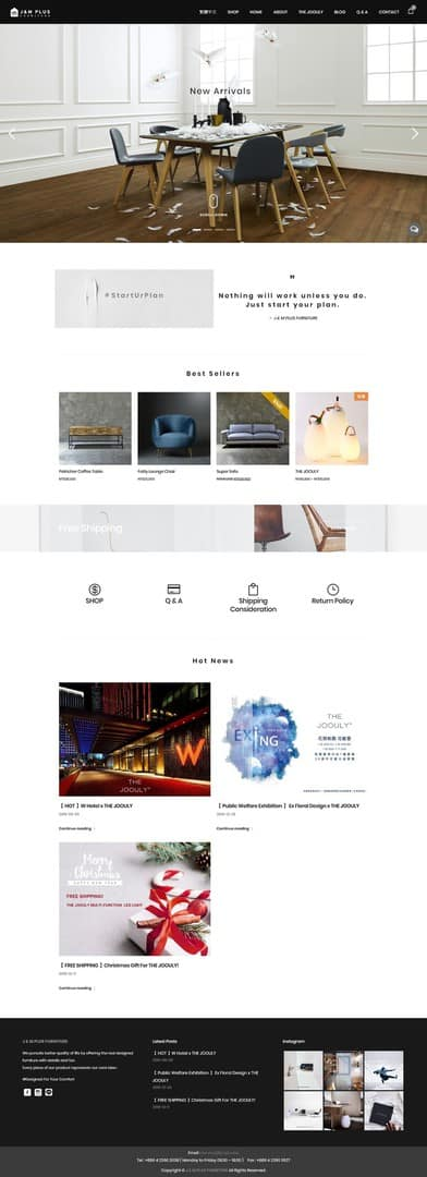 Multi-lang, E-Commerce showcase - J & M Plus Furniture - Desktop-Full-744x2048-1
